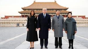 Trung Quốc đón ông Trump theo cách chưa từng có