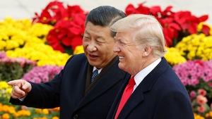 Tổng thống Trump cười tươi với 280 tỉ USD ở Trung Quốc
