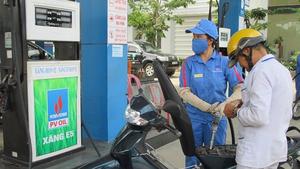 Xăng giảm nhẹ, dầu tăng cao nhất trên 300 đồng/lít