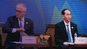 Đối thoại giữa các nhà lãnh đạo với Hội đồng tư vấn doanh nghiệp APEC