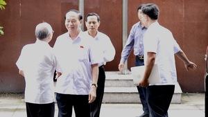 Chủ tịch nước Trần Đại Quang tiếp xúc cử tri TP.HCM