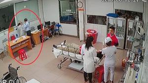 Xử lý hành vi gây rối công cộng giám đốc tát bác sĩ