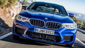 BMW ra mắt M5 2018 giá xuất xưởng khoảng 2,7 tỉ