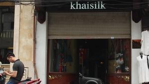 Cửa hàng Khaisilk bán hàng Made in China tạm đóng cửa