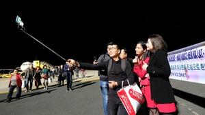 Đà Lạt đón những du khách đầu tiên bay thẳng từ Hàn Quốc