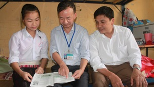 Cô học trò dân tộc Thái mơ làm cô giáo của bản