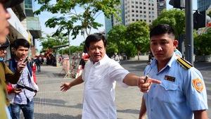 Chủ tịch quận duyệt, ông Đoàn Ngọc Hải mới được 'ra đường'