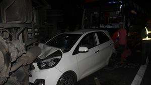Tai nạn liên tiếp trên cao tốc TP.HCM - Trung Lương, 1 người chết