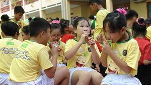 Ngày hội Fami Kid bổ ích cho học sinh tiểu học
