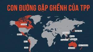 Con đường gập ghềnh từ TPP đến CPTPP