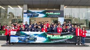 Thử thách tiết kiệm nhiên liệu động cơ VTEC TURBO cùng Honda 2017