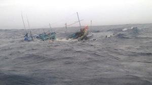 Chìm tàu ở Đài Loan, một thuyền viên Việt Nam mất tích