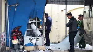 Cây ATM Vietinbank bất ngờ nổ tung ở Cửa Lò