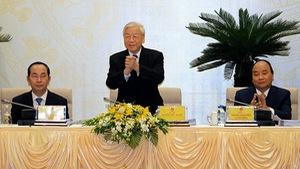 Tổng bí thư: Nghiêm minh với cả lãnh đạo cao cấp của Đảng
