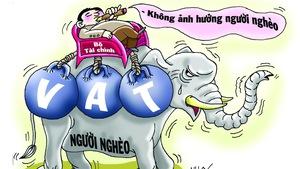 Tăng thuế VAT không ảnh hưởng... người cõi trên