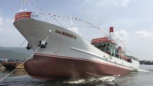 Đà Nẵng hạ thủy tàu vỏ thép 31 tỉ lớn nhất miền Trung