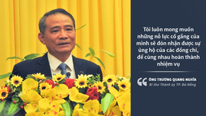 Ông Trương Quang Nghĩa: 'Tôi chưa từng nghĩ sẽ về làm Bí thư Đà Nẵng'