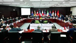 Các bộ trưởng ra tuyên bố chung TPP với tên gọi mới
