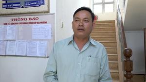 Trưởng công an xã đá văng thau cá: 'Tôi chưa lường trước sự việc'