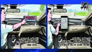 Bài học cạnh tranh từ vụ dán biểu ngữ của taxi