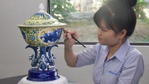 Khám phá hành trình tạo tác Chén Ngọc, quà tặng APEC 2017