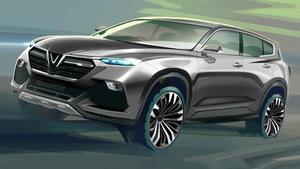 Ai thiết kế mẫu xe hơi cho Vinfast?