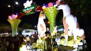 Sài Gòn khai mạc chợ hoa xuân Bình Điền