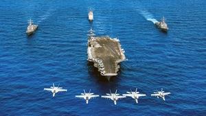 Đội tàu sân bay Mỹ sắp thăm Việt Nam uy lực cỡ nào?