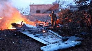 Máy bay Nga bị bắn hạ, một phi công tử nạn ở Syria