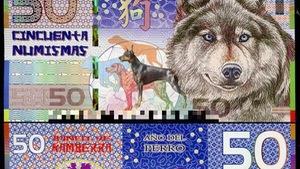 Săn tiền lì xì hình con chó dịp giáp tết