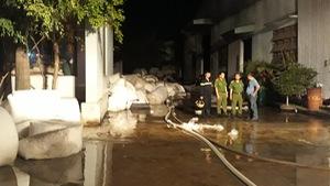 Cháy công ty may mặc trong Khu công nghiệp Phú Tài