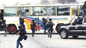 Singapore cấm quay phim, chụp ảnh tại hiện trường khủng bố