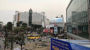 Hà Nội điều chỉnh nhiều tuyến đường để thi công ga ngầm Cát Linh