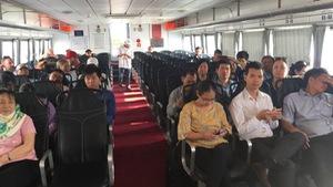 Tuyến tàu cao tốc TP.HCM - Cần Giờ - Vũng Tàu hoạt động lại