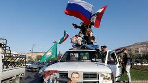 Video người dân Syria cảm ơn Nga, Iran và Trung Quốc sau không kích