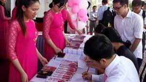 Ngày hội việc làm cho sinh viên y dược
