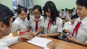 Tỉ lệ chọi căng thẳng, nhiều học sinh hạ nguyện vọng lớp 10