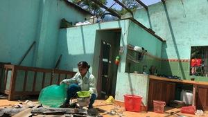 Dân Quế Lâm thiệt hại nặng vì lốc xoáy