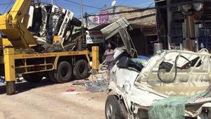 Vụ tai nạn 5 người chết: Xe tải chở quá tải và phóng ẩu