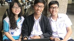 Học sinh sáng chế phần mềm về giải phẫu cơ thể người