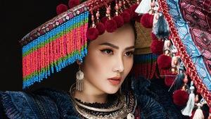 Diệu Linh mang 'Sơn nữ H'Mông' đến Nữ hoàng Du lịch Quốc tế