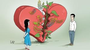 Ứng xử văn hóa khi chia tay: lùi lại để bước qua