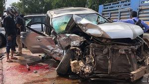 Cảnh sát Campuchia kết luận vụ xe hoàng thân Ranariddh bị đụng bẹp dúm là tai nạn