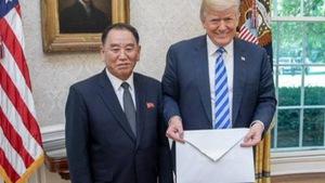 Lãnh đạo Triều Tiên gởi một bức thư lớn cho ông Trump