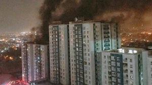 Tôi bế con chạy bộ từ tầng 29 xuống khi chung cư cháy...