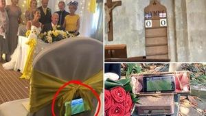 Ghiền World Cup, fan lén xem Anh đá với Thụy Điển bất chấp đám cưới