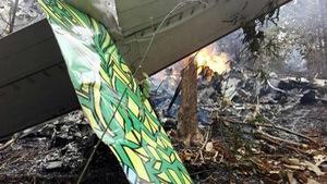 Rơi máy bay ở Costa Rica, ít nhất 12 người chết