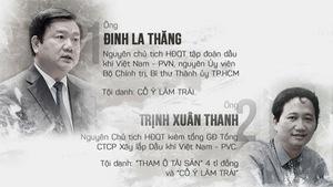 21 người cùng hầu tòa trong vụ án ông Đinh La Thăng là ai?