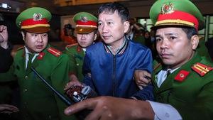 Ngày 24-1, ông Trịnh Xuân Thanh lại hầu toà vì tham ô 14 tỉ