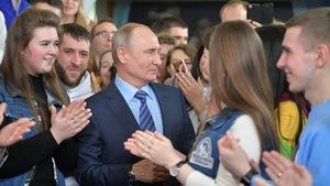 Ông Putin dự kiến thắng lớn trong bầu cử tổng thống